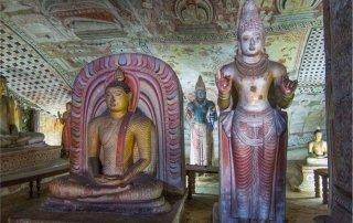 Dambulla cave temple. Дамбулла — Золотой храм