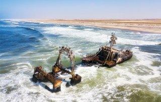 Skeleton Coast. Namibia. Берег Скелетов