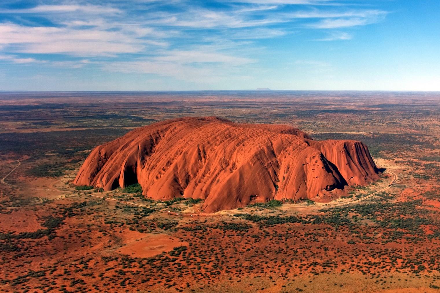 Ayers Rock, Uluru. Travel. Скала Улуру