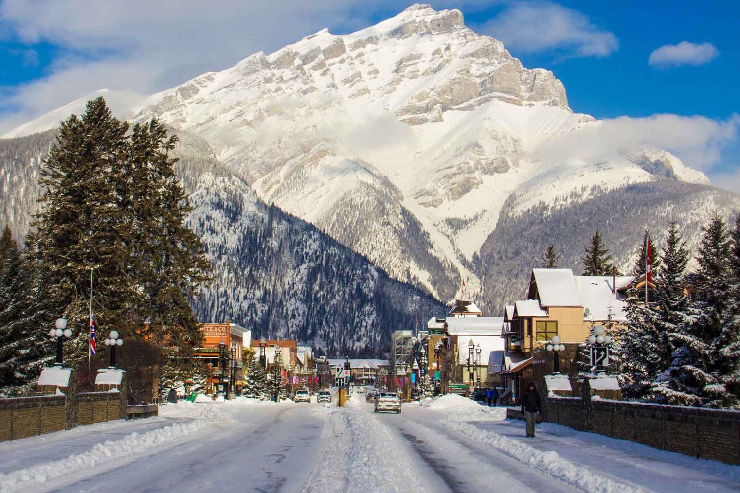 Banff SnowDays, travel. Снежные Дни в Банф