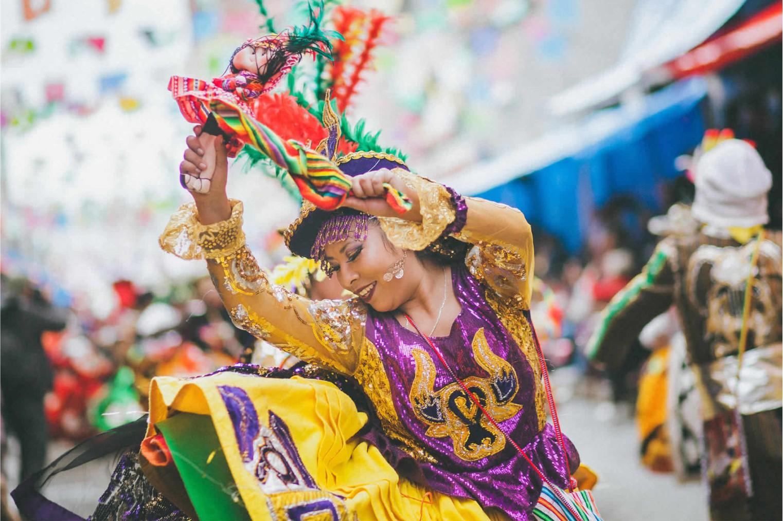 Carnaval in Oruro. Travel. Карнавал в Оруро