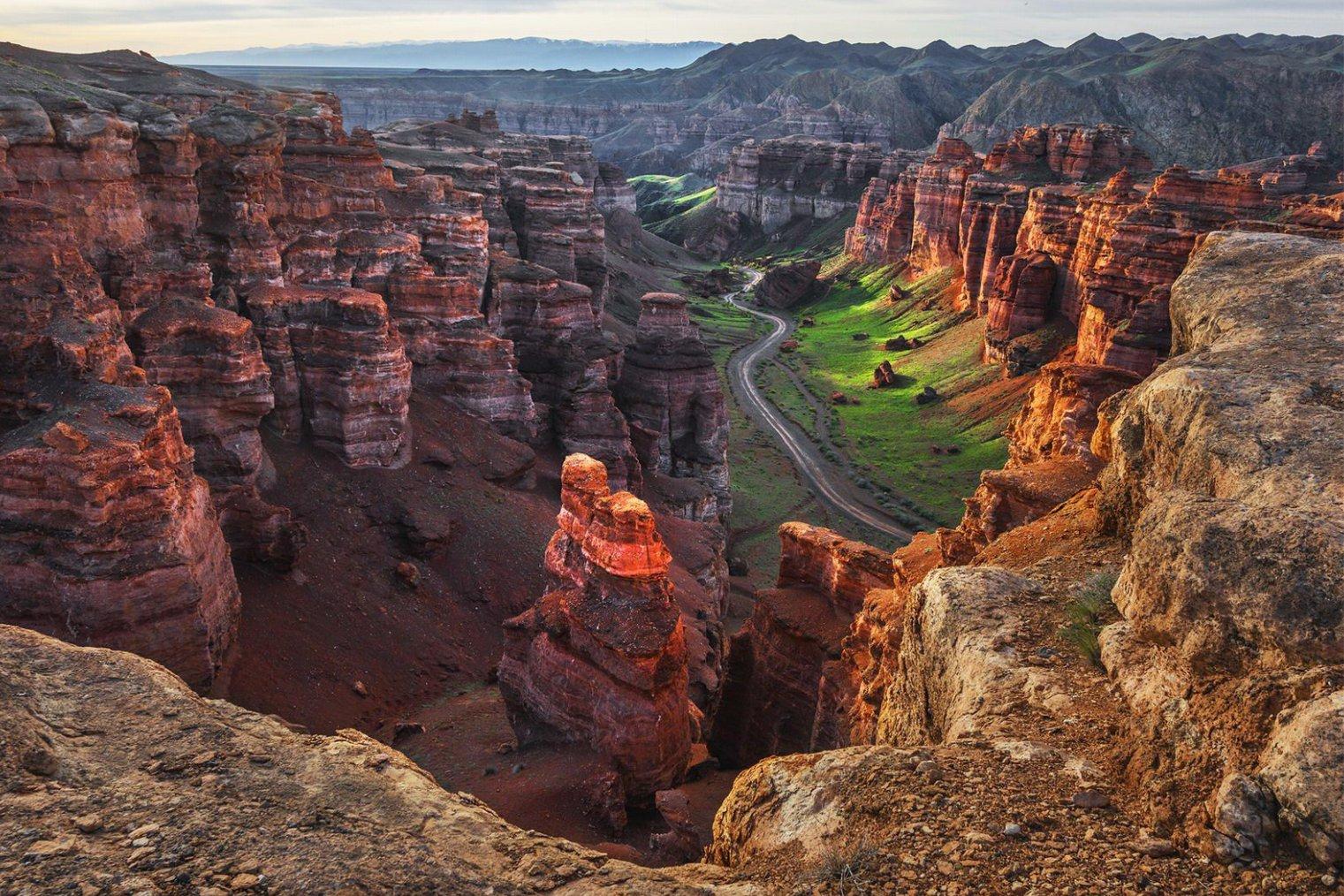 Charyn Canyon. Travel. Долина Замков Чарын