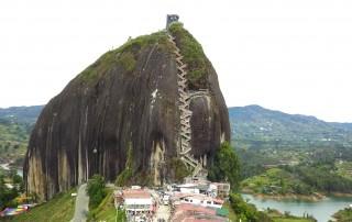 Guatape Rock. Piedra Del Peñol. Travel. Гуатапе Скала