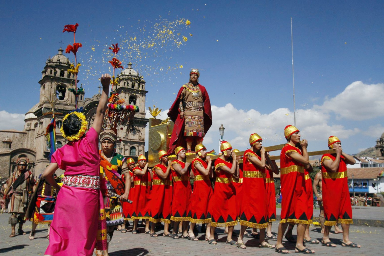 Inty Raymi Cusco. Инти Райми - фестиваль Солнца