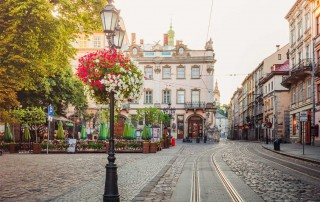 Lviv, Ukraine. Travel. Львов, туризм