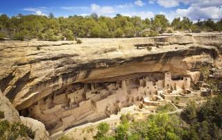 Mesa Verde (Cliff Palace), Travel. Меса Верде. Туризм