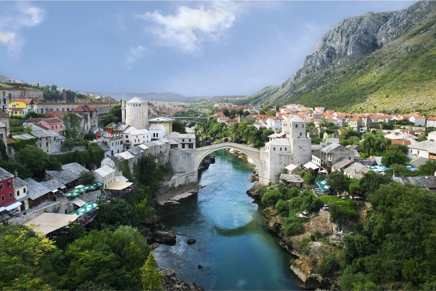 Mostar Old Town, Travel. Мостар, Туризм
