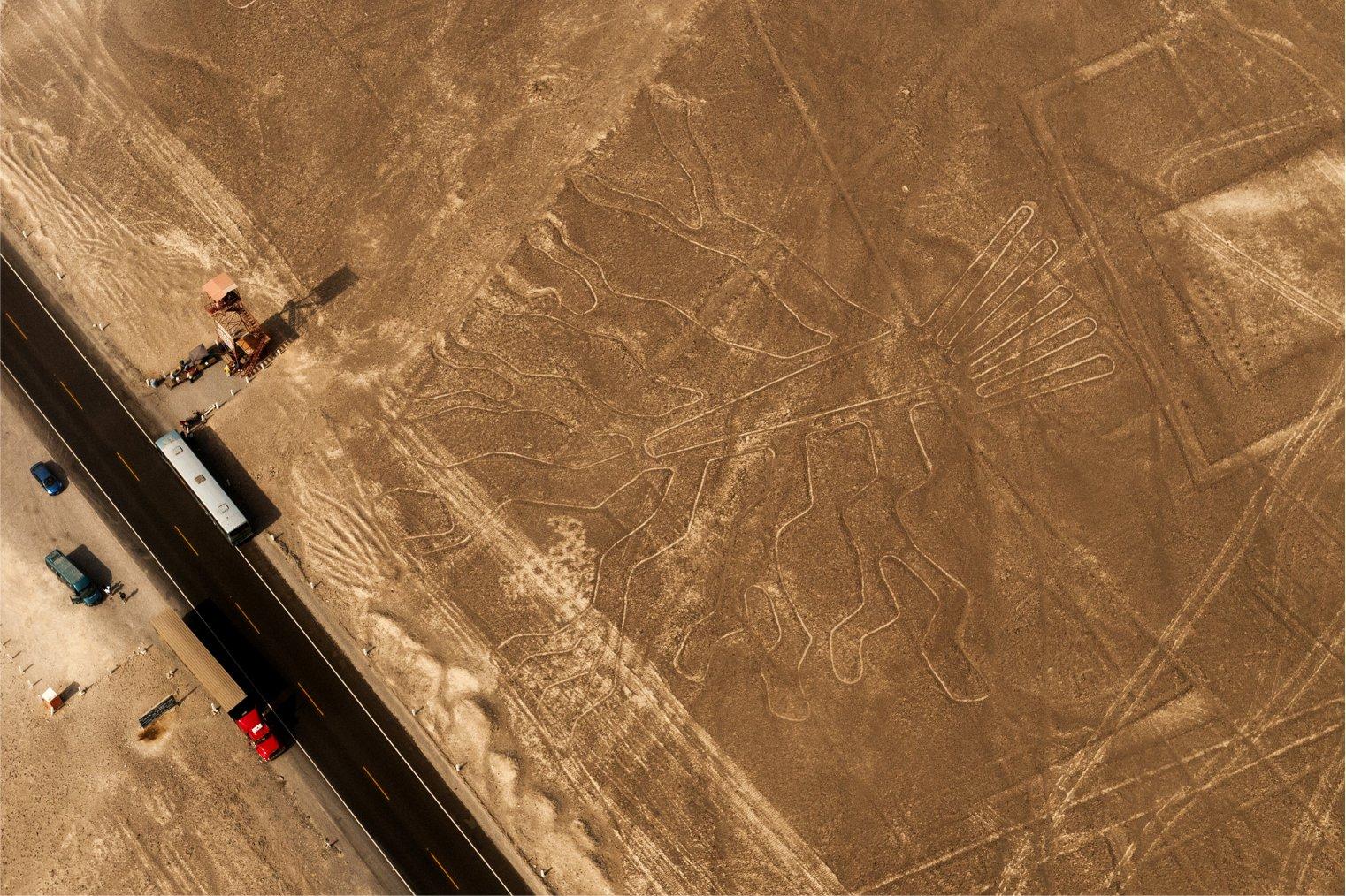 Nazca Lines. Peru. Travel. Рисунки Наска. Туризм