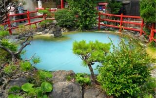 Nine Hells of Beppu, travel. Горячие источники Беппу