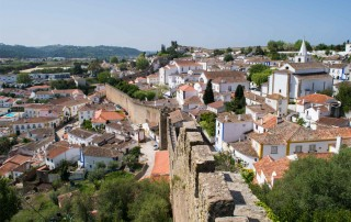 Obidos. Travel. Обидуш. Туризм