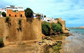 Rabat. Kasbah of the Udayas. Travel. Касба Удайя. Туризм