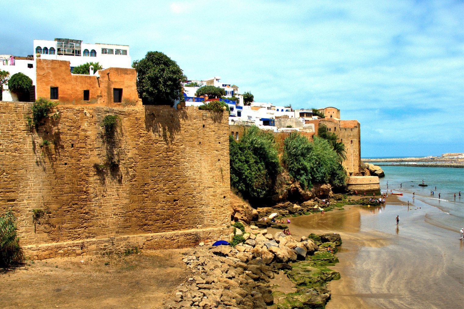 Rabat. Kasbah of the Udayas. Travel. Касба Удайя. Туризм