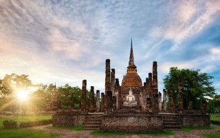 Sukhothai Historic Town. Travel. Сукхотаи. Туризм