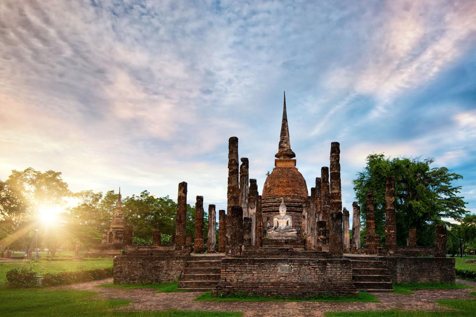 Sukhothai Historic Town. Travel. Сукхотаи. Туризм
