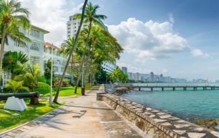 George Town. Penang. Travel. Джорджтаун. Туризм