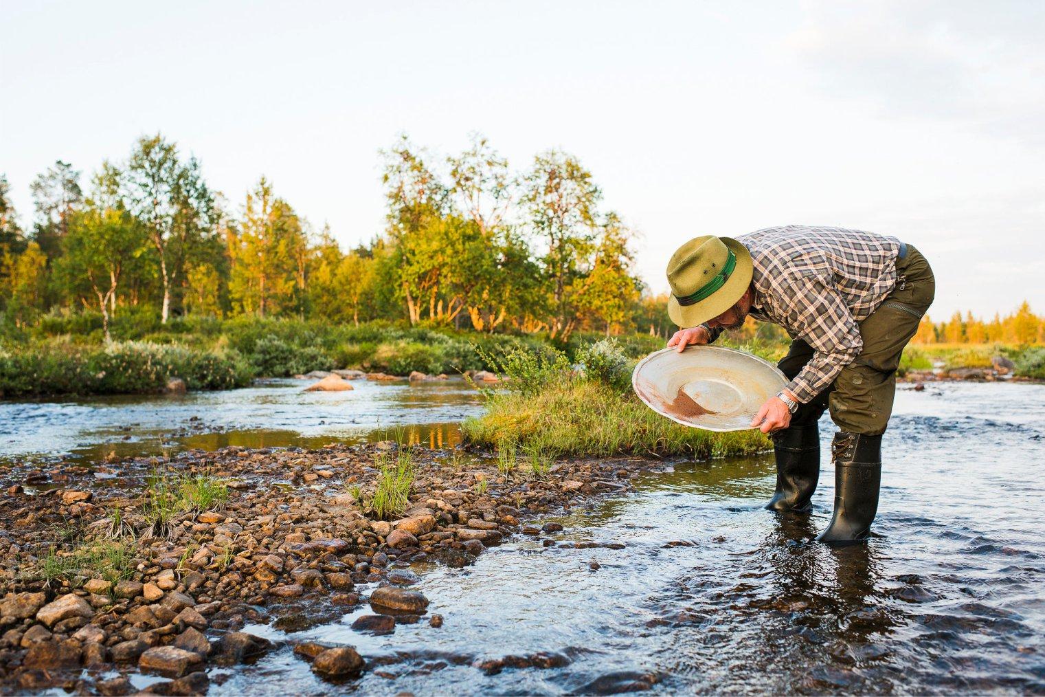 Поиск золота в Финляндии