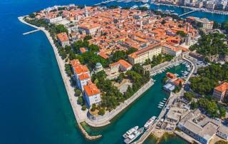 Zadar. Tourism. Задар. Туризм