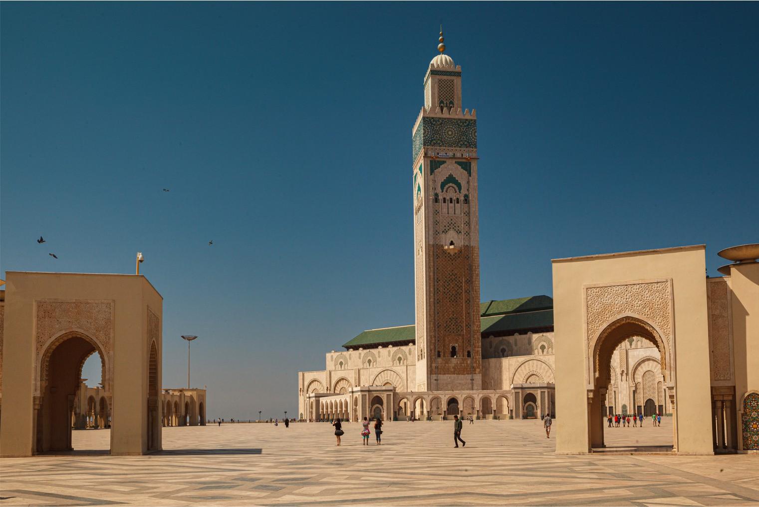 Morocco. Casablanca. Author's tour Sergey Shandin
