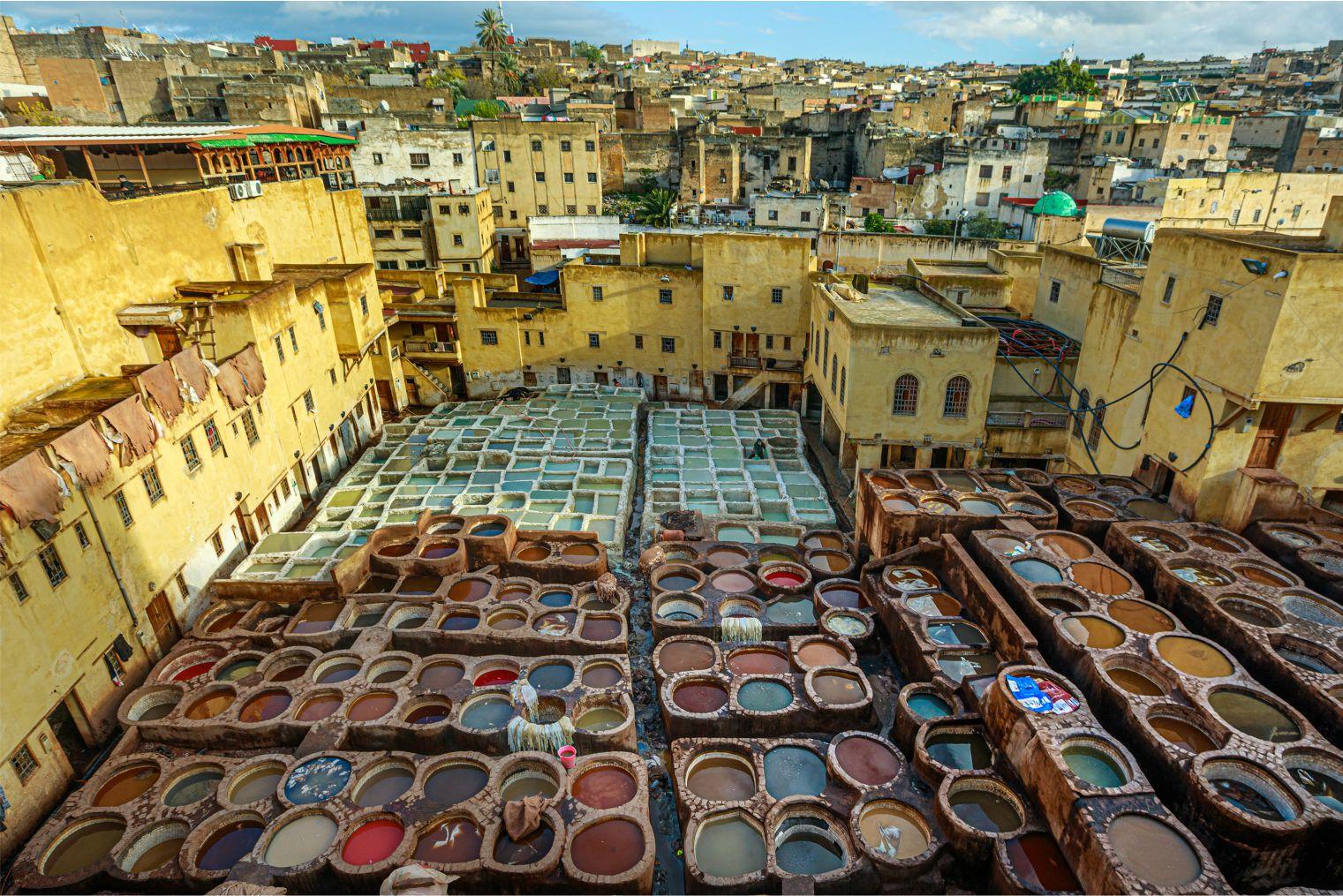 Morocco. Fez. Author's tour Sergey Shandin