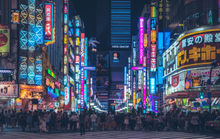 Tokyo. Travel. Tourism
